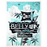O.A.R. Extended Stay Tour - Belly Up Motel, Motor Inn Poster - SIGNED