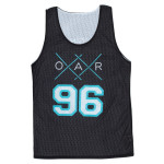 XX 96 front and Original Crew 96 Basketball Jersey