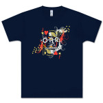 O.A.R. Navy Jack of Hearts T-Shirt