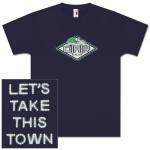 """O.A.R. 8.15.09 """"Let's Take This Town"""" New York, NY Event T-Shirt in Navy"""