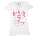 O.A.R. Women's King Rockville, MD V-Neck T-Shirt