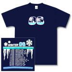 O.A.R. Navy Blue Winter 06 Tour T-Shirt