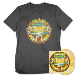 SOJA Amid the Noise and Haste 2-LP Gold Vinyl + T-Shirt + Download Bundle