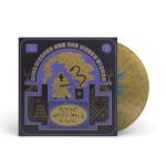 """Flying Microtonal Banana"" Gold With Blue Splatter Vinyl"