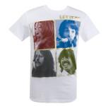 The Beatles Let It Be Gold Foil Shirt