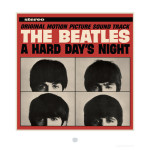 The Beatles A Hard Day's Night Album Cover Lithograph