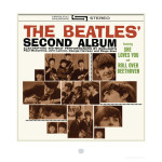 The Beatles Second Album Cover Lithograph