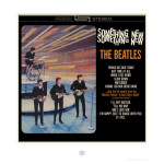 The Beatles Something New Album Cover Lithograph