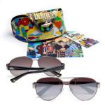 Yellow Submarine Metal Aviator Sunglasses