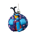 The Beatles Blue Meanie Glass Ornament