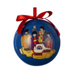 The Beatles Yellow Submarine Decoupage Ball Ornament