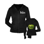 The Beatles Apple Women's Zip-up Hoodie