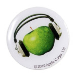 The Beatles Apple Records Pin