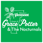 Grace Potter & The Nocturnals Welcome to Vermont Sticker