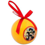 The Beatles DeCoupage Ball Ornament