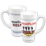 The Beatles 16oz. HELP! Latte Mug