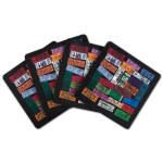 The Beatles Beatles Ticket Neoprene Coaster Set