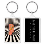 Cage The Elephant Album Cover Keychain