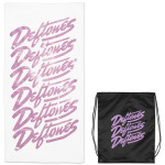 Deftones Script Towel and Bag Set