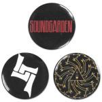 Soundgarden Mini-Button Set