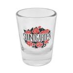 Soundgarden Roses Shot Glass