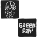 Green Day Gas Mask Woven Wristband