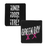 Green Day Pink X Wristband