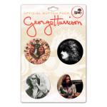 George Harrison Candid Portraits Pin Set