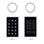 Imagine Dragons Stacked Logo Keychain