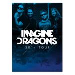 Imagine Dragons 2014 Tour Program