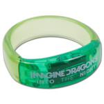 Imagine Dragons Blinking LED Bracelet - green