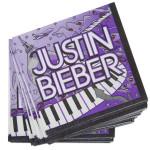 Justin Bieber Beverage Napkins
