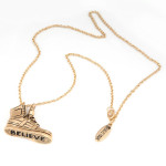 Justin Bieber Sneakers Necklace