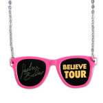 Justin Bieber Sunglasses Necklace