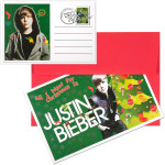 Justin Bieber Christmas Card Set