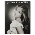 Jackie Evancho 8X10 B/W Silver Screen Photo