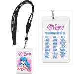 Katy Perry 2011 Tour Laminate and Lanyard