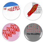 The Killers Button Pack