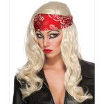 Lady Gaga Judas Video Wig with Bandana