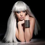 Lady Gaga Metal Arm Cuff