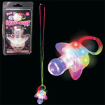 Lady Gaga Glow Pacifier w/ Chain