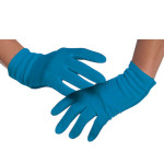 Lady Gaga Blue Gloves