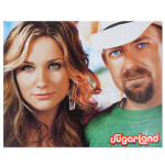 Sugarland 8x10 Close-up Photo