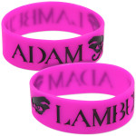 Adam Lambert Eyes Wristband
