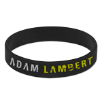 ADAM LAMBERT TRESPASS RUBBER BRACELET