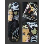 Mike Shinoda Women Skateboard Deck