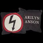 Marilyn Manson Shock Woven Pillow
