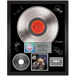 New Kids on the Block Self-Titled Autographed Platinum Album