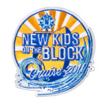 New Kids on the Block Cruise 2011 Patch