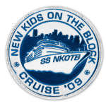 New Kids on the Block Cruise 2009 Patch